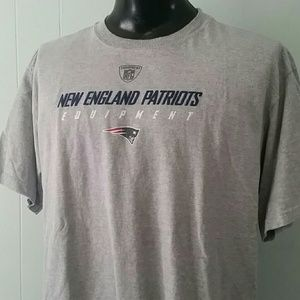 Patriots Tshirt Tee Football nfl gray new england